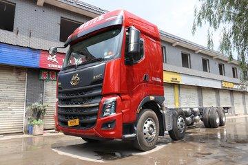 东风柳汽 乘龙H7重卡 480马力 8X4 9.4米仓栅式载货车