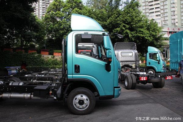 陕汽商用车 轩德翼9 标载版 150马力 4X2 4.15米单排仓栅式轻卡(SX5040CCYNP5331)