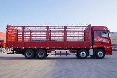 青岛解放 JH6重卡 智尊版 460马力 8X4 9.5米仓栅式载货车(CA5310CCYP25K2L7T4E5A80) 卡车图片