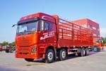 青岛解放 JH6重卡 460马力 8X4 8.2米仓栅式载货车(自动挡)(速比3.545)(CA5310CCYP25K2L7T4E5A80)图片