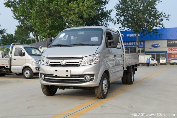 长安跨越王X5PLUS 舒适版 1.5L  112马力 汽油 3.05米双排栏板小卡(国六)
