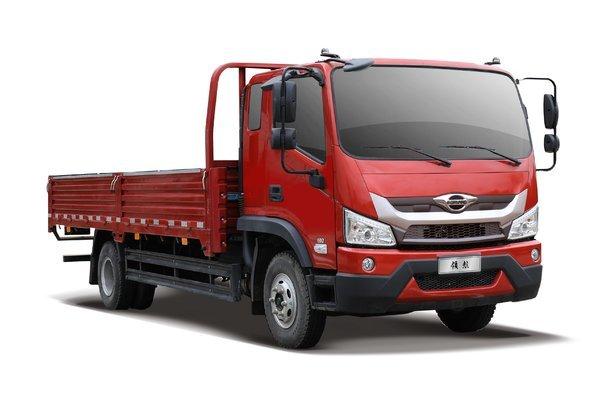 福田 时代领航ES5 170马力 4X2 6.8米排半栏板载货车