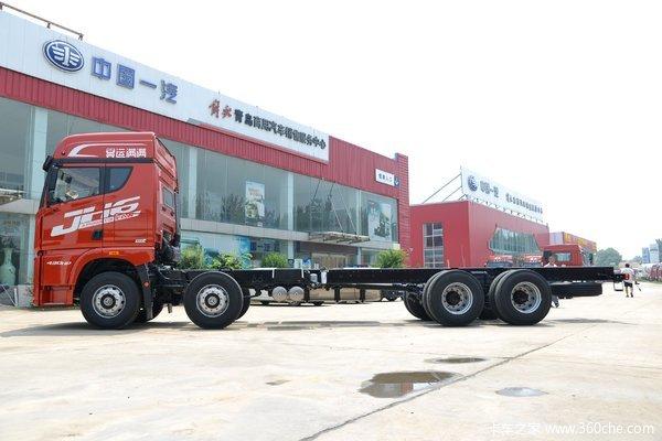 降价促销9米5解放JH6载货车仅售27.80万