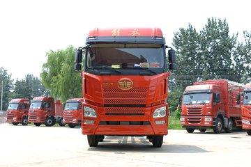 青岛解放 JH6重卡 320马力 6X2 7.7米栏板载货车(CA1250P26K2L5T3E6A80)