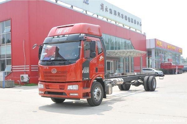 仅售13.4万上海解放4S店J6L载货优惠促销