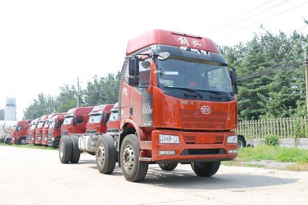 优惠2.5万赤峰市解放J6L载货车促销中