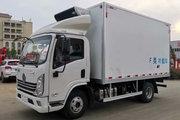 陕汽轻卡 德龙K3000 150马力 4X2 4.08米冷藏车(YTQ5041XLCKJ332)