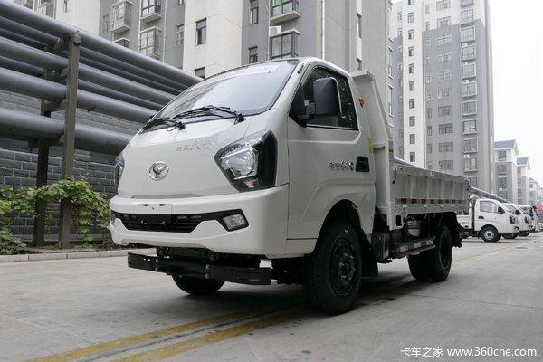 时风 风云小卡 110马力 4X2 3.2米自卸车(国六)