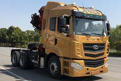 华菱 汉马H6重卡 420马力 6X4随车式起重牵引车(HN5250JQQHB42C6M5) 卡车图片