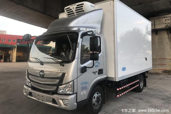 福田 欧马可S1系 156马力 4X2 4.08米冷藏车(采埃孚6挡)(BJ5048XLC-F3)