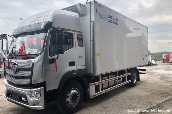 福田 欧航R系 245马力 4X2 6.6米冷藏车(BJ5186XLC-DM1)