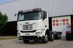 联合卡车 U350重卡 350马力 8X4 自卸车底盘(国六)