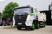 联合卡车 UX380重卡 380马力 8X4 LNG自卸车(国六)