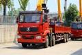 陕汽重卡 德龙新M3000 350马力 8X4 8.4米随车吊(SX5319JSQMC6Z2)图片