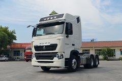 中国重汽 HOWO T7H重卡 430马力 6X4危险品牵引车(ZZ4257V324HE1W) 卡车图片