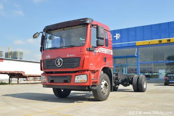 陕汽重卡 德龙L3000 标载版 245马力 6X2 9.7米翼开启厢式载货车(SX5250XYKLA9)