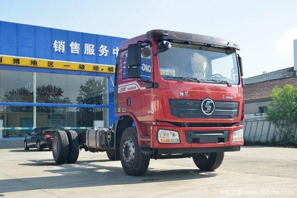 陕汽重卡 德龙L3000 标载版 245马力 6X2 9.7米厢式载货车(液缓)(SX5250XXYLA9)