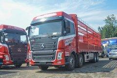 三一集团 银松版 430马力 8X4 9.5米仓栅式载货车(HQC5310CCY5GE1B)
