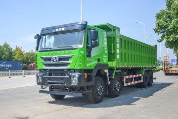 上汽红岩 杰狮C500重卡 重载版 430马力 8X4 8.6米自卸车