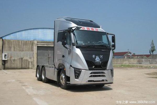 中国重汽 黄河 X7重卡 500马力 6X4牵引车(国六)