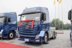 现代商用车(原四川现代) 创虎XCIENT重卡 创业版 440马力 6X4牵引车(CHM4250KPQ49V)