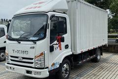 唐骏欧铃 T1系列 110马力 4.15米单排厢式轻卡(ZB5042XXYJDD6V)