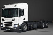 斯堪尼亚 P系列重卡 360马力 6X2 插电式混合动力载货车