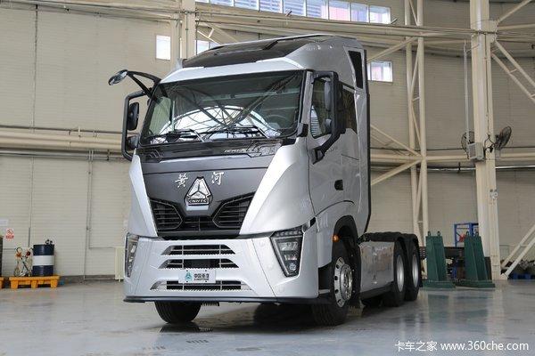 中国重汽 黄河 X7重卡 490马力 6X4 AMT自动挡牵引车(国六)