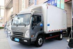 现代商用车 盛图城配版 116马力 4X2 4.12米单排厢式轻卡(CHM5045XXYGDC33V) 卡车图片