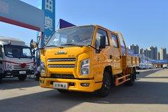 江铃 新款顺达窄体 116马力 2.755双排栏板轻卡(国六)(JX1041TSCB26) 卡车图片