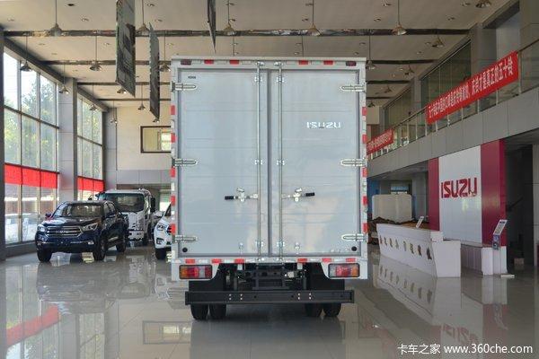 优惠2万榆林五十铃KV100载货车促销中