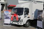 福田 欧马可S1系 143马力 4.14米单排厢式轻卡(采埃孚6挡)(BJ5048XXY-FE)图片