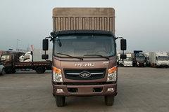 唐骏欧铃 T7系列 170马力 6.2米排半仓栅式轻卡(ZB5180CCYUPG3V) 卡车图片