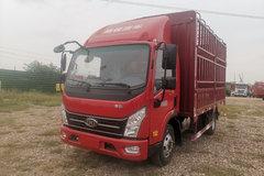 南骏汽车 瑞捷D30G 156马力 4.1米单排仓栅式轻卡(NJA5041CCYPDB34V) 卡车图片
