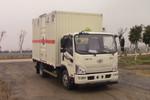 一汽解放 J6F 150马力 4X2 4.15米易燃气体厢式运输车(CA5089XRQP40K2L2E5A84)