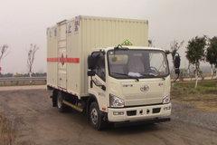 一汽解放 J6F 150马力 4X2 5.15米易燃液体厢式运输车(CA5129XRQP40K2L2E5A84)