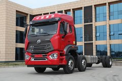 中国重汽 豪瀚N5G重卡 280马力 6X2 9.6米栏板载货车(ZZ1255M56C3E1) 卡车图片