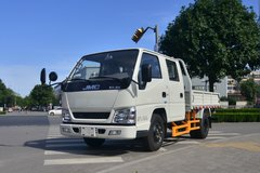 江铃 顺达小卡 116马力 2.755米双排栏板轻卡(JX1041TSCB25) 卡车图片