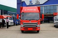 跃进 超运H500 156马力 4.2米AMT自动挡单排仓栅式轻卡(SH5042CCYZFDDWZ4) 卡车图片