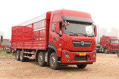 东风商用车 天龙KL重卡 465马力 8X4 9.6米仓栅式载货车(DFH5310CCYA1) 卡车图片