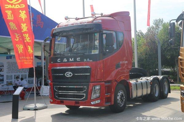 华菱 汉马H9重卡 550马力 6X4牵引车(速比3.42)