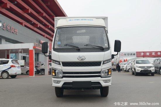 跃进 福运S80 1.5L 113马力 3.59米排半厢式微卡(SH5033XXYPEGCNZ4)