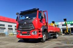 中国重汽 豪瀚N5W中卡 220马力 4X2 6.75米栏板载货车(ZZ1185K5113E1) 卡车图片