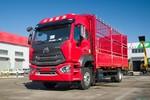 中国重汽 豪瀚N5W中卡 轻奢版 245马力 4X2 6.75米仓栅式载货车(国六)(ZZ5185CCYK5113F1)图片