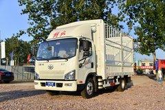 解放 J6F 160马力 4X2 4.16米单排仓栅式轻卡(国六)(解放6挡)(CA5040CCYP40K59L2E6A84) 卡车图片