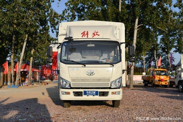 回馈客户解放J6F载货车仅售12.63万元