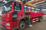 一汽解放 J6L 220马力 4X2 随车起重运输车(徐工牌)(XZJ5182JSQJ5)图片