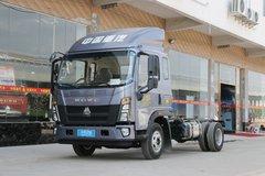 中国重汽HOWO 统帅 141马力 3.85米排半栏板载货车(ZZ1087F331CE183) 卡车图片