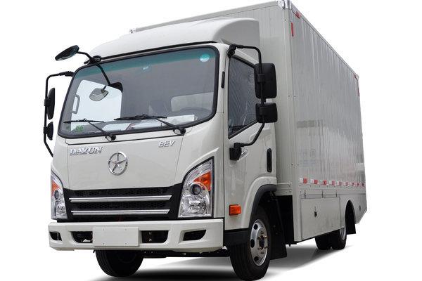 大运 E3 4.5T 4.05米单排纯电动厢式轻卡
