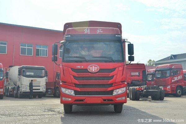 青岛解放 龙VH中卡 2.0版 250马力 4X2 8.8米厢式载货车(法士特8挡)(国六)